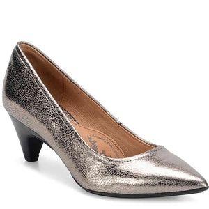 Sofft Alteesa Pump- Gorgeous Metallic, Silver/Gold